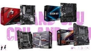 Cheapest B550 Motherboards in 2021