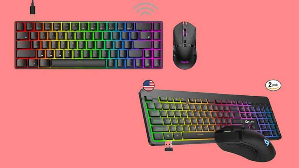Best Wireless Gaming Keyboard and Mouse Combo Under 40